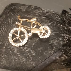 Bike (pin)with a bling